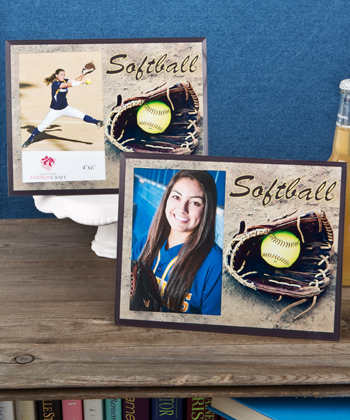 Softball themed Frames from Gifts-Softball themed Frames from Gifts By Fashioncraft