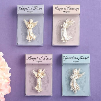 Set of 12 Stunning Guardian Angel magnets from gifts by Fashioncraft-Stunning Guardian Angel magnets from gifts by Fashioncraft