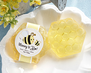 """Mommy To Bee"" Honey-Scented Honeycomb Soap-Mommy To Bee Honey-Scented Honeycomb Soap"