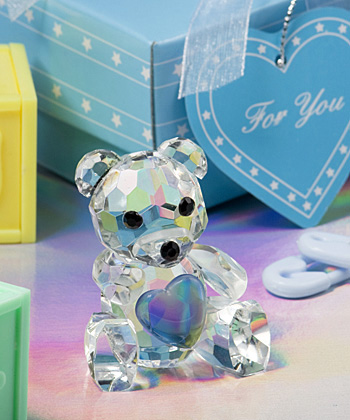 Choice Crystal Collection teddy bear figurines-Choice Crystal Collection teddy bear figurines
