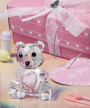 Choice Crystal Collection teddy bear figurines-Choice Crystal Collection teddy bear figurines