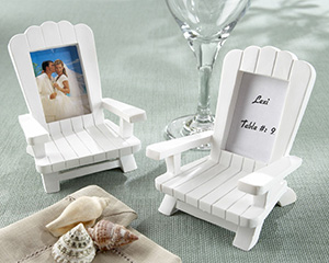 4 Beach Memories Miniature Adirondack Chair Place Cards-placecards, reception card, place card holders, card place holders, wedding table names, placecard holders, wedding table numbers, place card holder, wedding table number ideas, wedding table cards