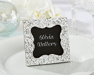 """SPARKLE AND SHINE"" SILVER GLITTER FRAME-SPARKLE AND SHINE SILVER GLITTER FRAME"