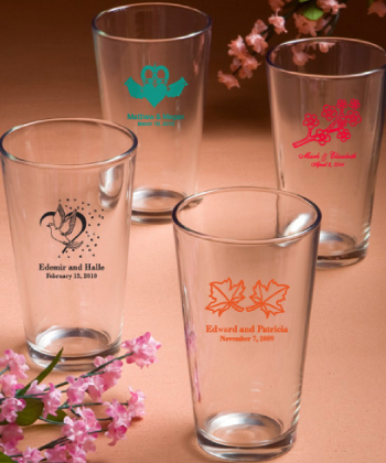 Personalized Pint Glasses-Personalized Pint Glasses