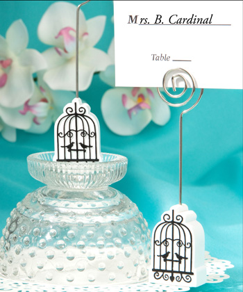 Elegant birdcage design place card holders-Elegant birdcage design place card holders