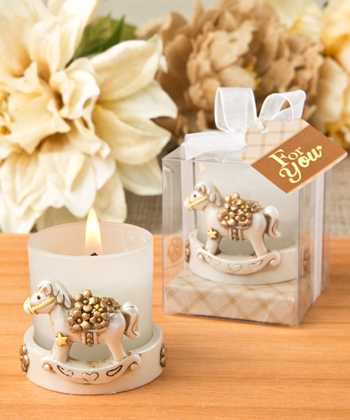 Vintage Rocking Horse votive candle holder-Vintage, Rocking, Horse, votive, candle, holder, baby, shower, cute, gift, favor