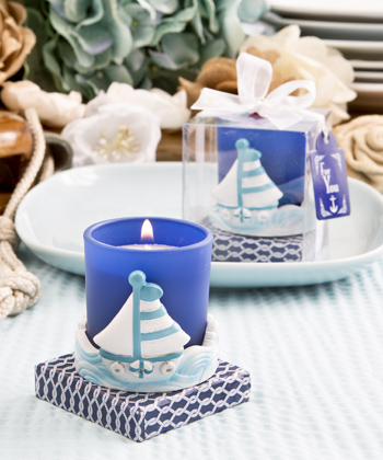 Sail Boat Votive Candle Holder From Fashioncraft-Sail Boat Votive Candle Holder From Fashioncraft