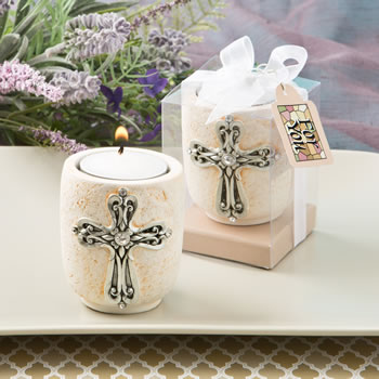 CROSS DESIGN CANDLE TEA LIGHT HOLDER FROM FASHIONCRAF-CROSS DESIGN CANDLE TEA LIGHT HOLDER FROM FASHIONCRAF