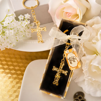 DRAMATIC GOLD METAL CROSS WITH INTRICATE INTERTWINED DESIGN-DRAMATIC GOLD METAL CROSS WITH INTRICATE INTERTWINED DESIGN