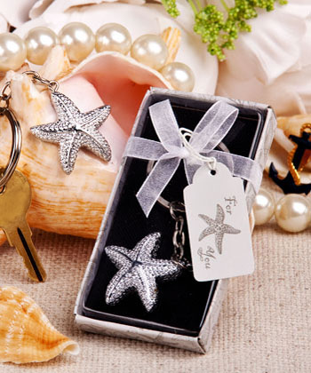 Brilliant Starfish Key Chain-Brilliant Starfish Key Chain