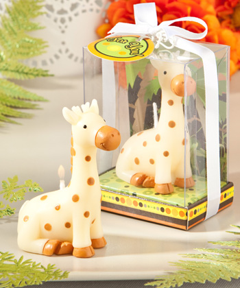 Jungle Critters Collection Baby Giraffe Candles-Jungle Critters Collection Baby Giraffe Candles