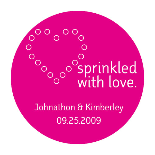 Sprinkled with Love Stickers ( set of 50 )-