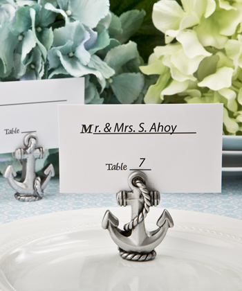 Nautical Anchor Place Card / Photo Holder From Fashioncraft-Nautical Anchor Place Card / Photo Holder From Fashioncraft