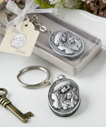 Madonna And Child Themed Key Chain From Fashioncraft-Madonna And Child Themed Key Chain From Fashioncraft