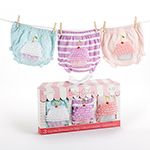 """Baby Cakes"" Set of Three Cupcake Bloomers-Baby Cakes Set of Three Cupcake Bloomers"