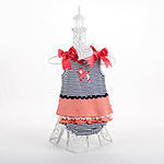 """La Petite Parisian"" Tunic with Bloomers-La Petite Parisian Tunic with Bloomers"
