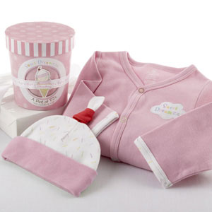 """Sweet Dreamzzz"" A Pint of PJ's Sleep-Time Gift Set, Strawberry-"