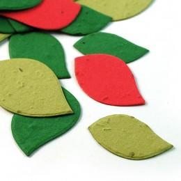 Christmas Leaf Eco Confetti-Christmas Leaf Eco Confetti