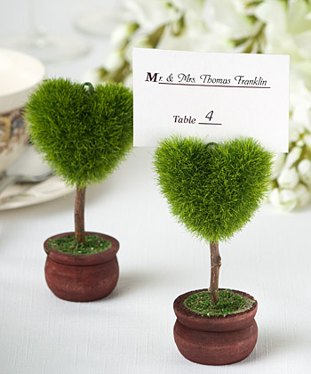Unique Heart Design Topiary Place Card Holder-placecards, reception card, place card holders, card place holders, wedding table names, placecard holders, wedding table numbers, place card holder, wedding table number ideas, wedding table cards
