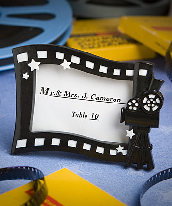 Hollywood movie themed place card/photo frame-Hollywood movie themed place card photo frame