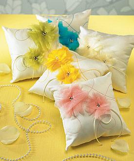 I Do . . . Color Ring Pillow-I Do . . . Color Ring Pillow