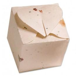 Plantable Heart Favor Box-Plantable Heart Favor Box