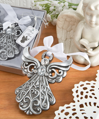Silver Angel Ornament with Antique Finish from Fashioncraft-Silver Angel Ornament with Antique Finish from Fashioncraft,Favors For Communions, Favors For Christenings, Favors For Baptisms, Baptism & Christening Favors, promo items, giveaway ideas, Sunday school gifts, church marketing