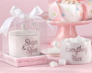 Sugar, Spice and Everything Nice Ceramic Sugar Bowl-