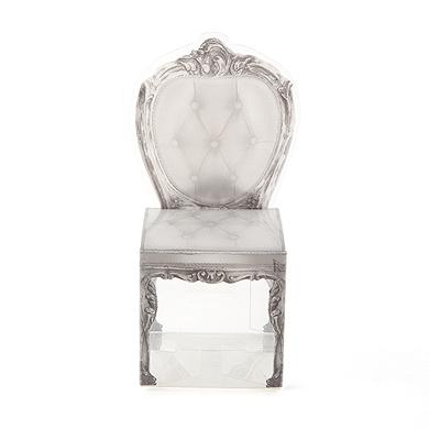 Transparent Chair Favor Boxes (Set of 10)-Transparent Chair Favor Boxes
