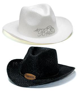 Bride Groom Cowboy Hats-Bride Groom Cowboy Hats