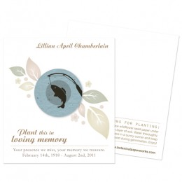 Fishing Memorial Cards-Fishing Memorial Cards