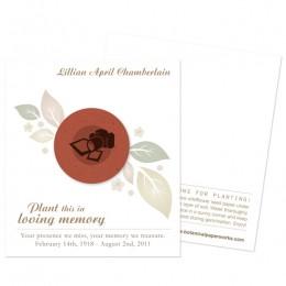 Photographer Memorial Cards-Photographer Memorial Cards