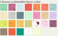 Plantable Heart Note Favor-Plantable Heart Note Favor