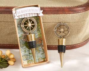 """OUR ADVENTURE BEGINS"" BOTTLE STOPPER-OUR ADVENTURE BEGINS BOTTLE STOPPER"