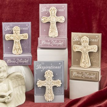 Inspirational Cross Magnet from Gifts By Fashioncraft-Inspirational Cross Magnet from Gifts By Fashioncraft