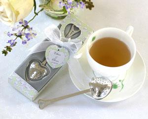 Tea Time Heart Tea Infuser in Tea-Time Gift Box-tea themed bridal shower favors