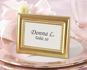 Beautifully Beaded Gold Photo Frame/Place Holder-Beautifully Beaded Gold Photo Frame