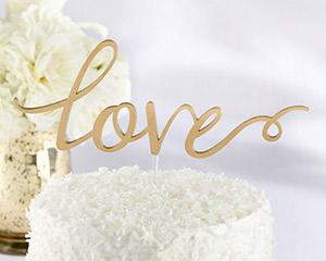 LOVE CAKE TOPPER-LOVE CAKE TOPPER