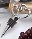 Glistening Heart Design Bottle Stopper-Glistening Heart Design Bottle Stopper