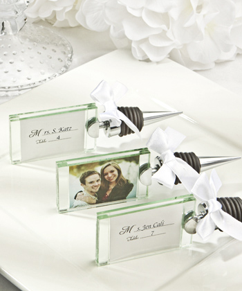 PHOTO/PLACE CARD HOLDER WINE BOTTLE STOPPER-PHOTO/PLACE CARD HOLDER WINE BOTTLE STOPPER