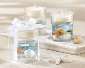 Seashell Gel Tealight Holder-Seashell Gel Tealight Holder
