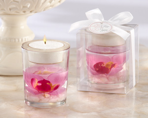 Elegant Orchid Tealight Holder-Elegant Orchid Tealight Holder