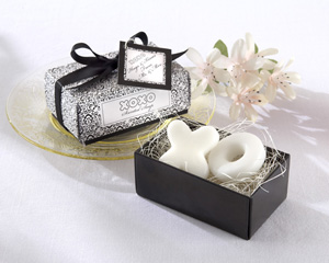 Hugs Kisses From Mr Mrs Scented Soaps-soap wedding favors