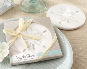 By the Shore Sand Dollar Coaster-By the Shore Sand Dollar Coaster