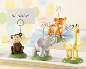 Born To Be Wild Animal Place Card/Photo Holders (Set of Four Assorted)-Animal Place Card