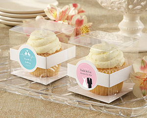 Personalized Cupcake Boxes (Set of 12)-Personalized Cupcake Boxes (Set of 12)