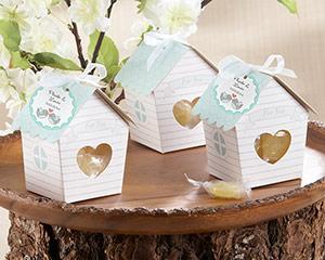 """Love Nest"" Bird House Favor Box (Set of 24)-Love Nest Bird House Favor Box (Set of 24)"