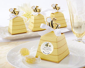 """Sweet as Can Bee!"" Mom and Baby Beehive Favor Box-Sweet as Can Bee! Mom and Baby Beehive Favor Box (Set of 24)"