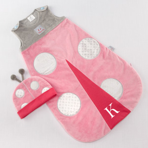 """Snug As a Bug"" Ladybug Snuggle Sack-Snug As a Bug Ladybug Snuggle Sack"