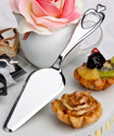 Heart design cake/pastry server favors-Heart design cake/pastry server favors